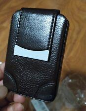 Pindi Leather Pocket Business Credit Card Holder Color Brown