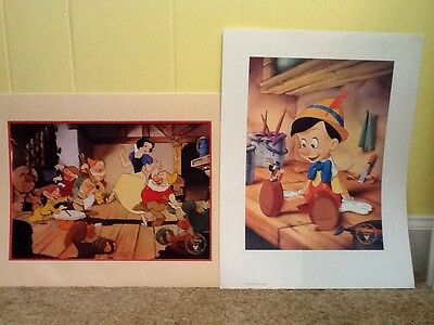 Disney Lithograph Duo Collection (Snow White & Pinocchio)