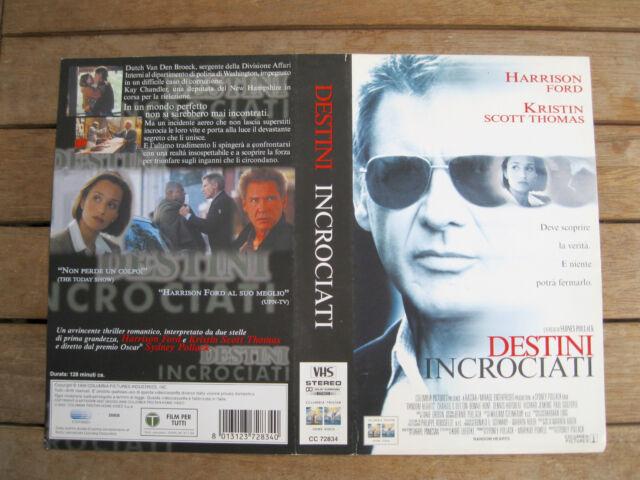 DESTINI INCROCIATI Random Hearts (1999) COVER VHS 1ª EDIZIONE 2000 - NO VHS