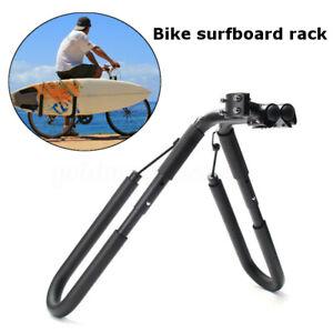 Fahrradhalterung-Surfbrett-Surfboard-Fahrradgepaecktraeger-Fahrrad-Halter