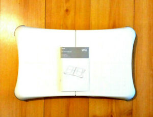 Nintendo-Wii-Balance-Board-Board-only-RVL-021-plus-Manual