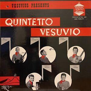 QUINTETTO VESUVIO Vocalist Aldo De Crescenzo LP VESUVIUS 4403 rare OG NM