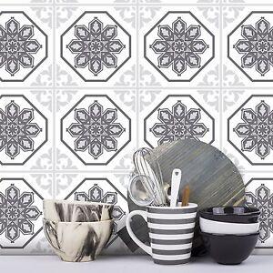 ADESIVI-Piastrelle-trasferimenti-Tradizionale-Vintage-150mm-x-150mm-cucina-personalizzata-Taglie-T3