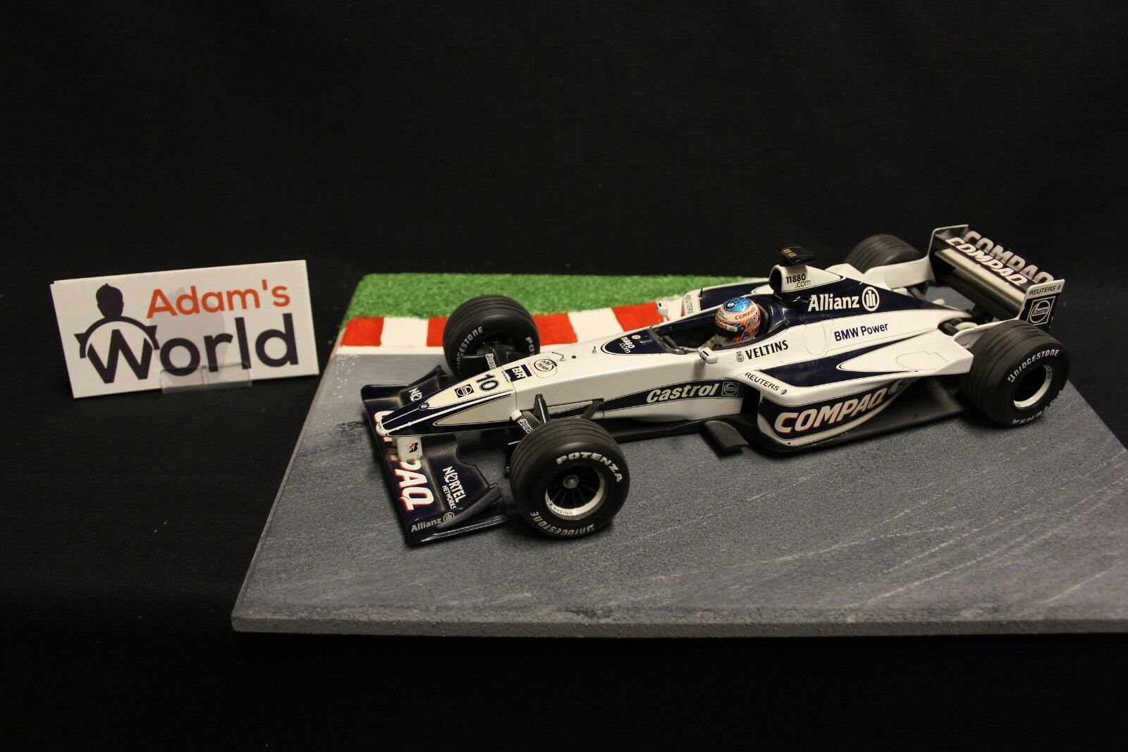 Minichamps Williams BMW FW22 2000 1 18  10 Jenson Button (GBR) (F1NB)