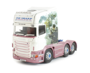 Corgi Camión Transporte Pesado moderna CC13772 Scania R Topline Joe Unidad De Sharp 1 50