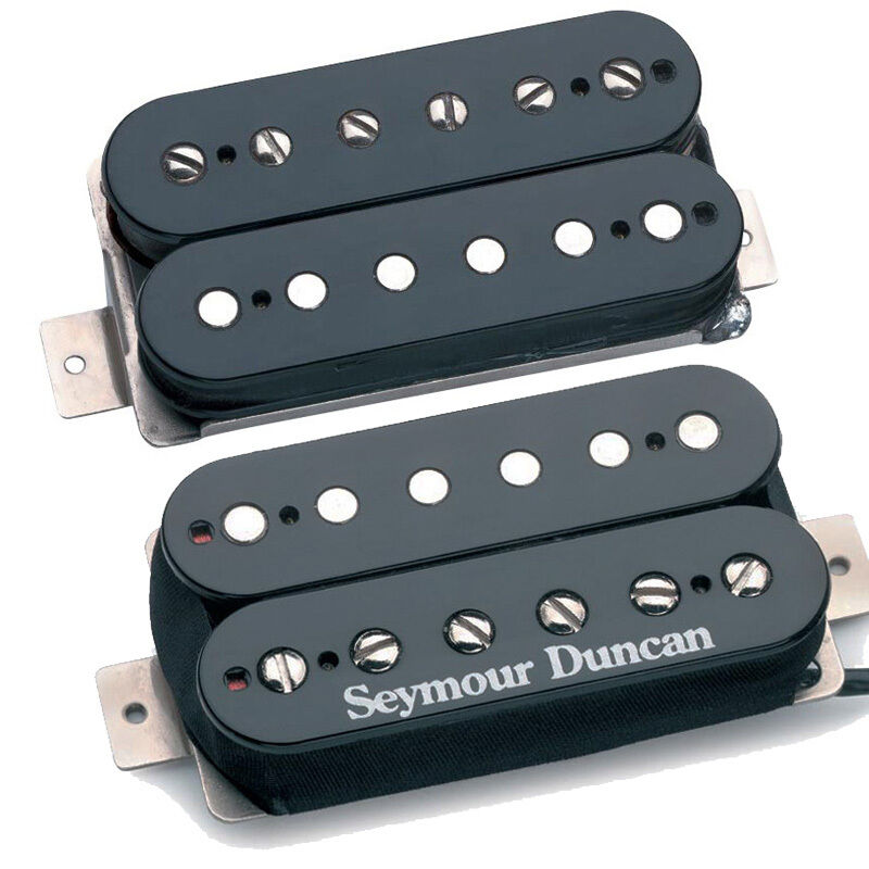 Seymour Duncan Sh-1 Tb-59 59 Vintage blus Manico e Ponte Set Nero 4 Conduttore