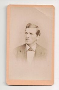 Vintage-CDV-Unknown-Man-Very-dapper-R-A-Lewis-Photo-New-york