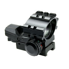 Tactical Holographic Red Green 4 Reticles Reflex Dot Sight with 20mm Rail Mount