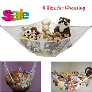 Jumbo-Kids-Toy-Hammock-Net-Hanging-Corner-Storage-Animals-Stuffed-Toys-Organizer