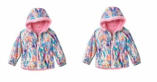 NEW WITH TAGS GIRLS TODDLER ZeroXposur Abstract Pattern Berber Fleece Jacket