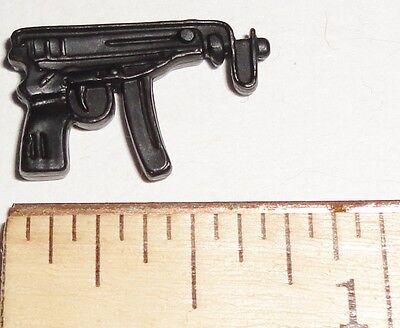 BIN B32 G I JOE Accessory      Black Scorpion Machine Pistol Various Figures