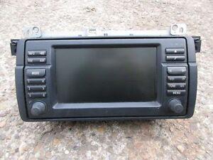 bmw e46 bordmonitor navigation mit cd laufwerk monitor 16. Black Bedroom Furniture Sets. Home Design Ideas