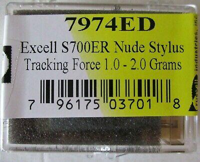 Replacement Nude Elliptical diamond stylus for Shure M91E