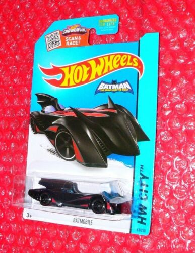 2015 Hot Wheels Batman The Brave and the Bold Batmobile  #63 HW City CFL45-09B0J
