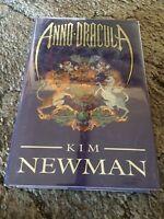 Anno Dracula Kim Newman 1st Ed Hc Uk Release (1992) Signed Fine