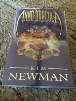 Anno Dracula Kim Newman 1st Ed Hc Uk Release (1992) Signed Fine