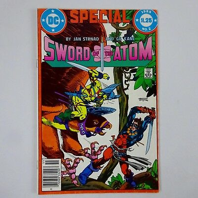 Sword of the Atom Special #2 1985 DC Newsstand Comic Book VF