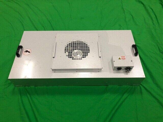"277v Clean Room HEPA Fan 24/""X 48/"" Filter Ceiling Grid Unit"