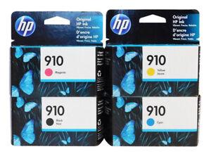 HP 910 Combo 4-pack Ink Cartridge New Genuine (B,C,M,Y)