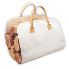 CLC Custom LeatherCraft C390 - Heavy-Duty Canvas Fire Wood Log Carrier Tote Bag
