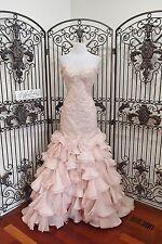 V340 Stunning  MAGGIE SOTTERO SERENCIA BLUSH SZ 6 $2198 WEDDING DRESS  GOWN NWT