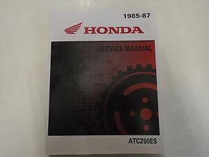1985-1986-1987-HONDA-ATC250ES-BIG-RED-ATC-250-Service-Shop-Repair-Manual-NEW