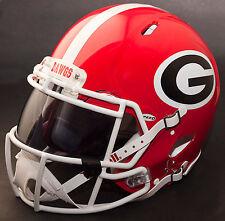 GEORGIA BULLDOGS NCAA Authentic GAMEDAY Football Helmet w/ OAKLEY Eye Shield