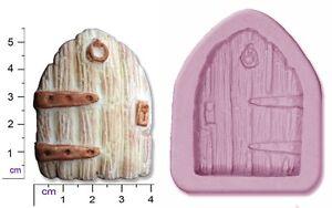 Fairy-CASTELLO-PORTA-MEDIUM-Craft-Sugarcraft-SCULPEY-silicone-stampo-in-gomma