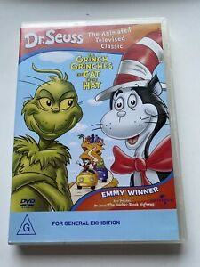 DR-SEUSS-THE-GRINCH-GRINCHES-THE-CAT-IN-THE-HAT-DVD-in-VGC
