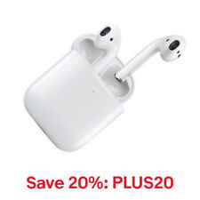 Apple AirPods Gen 2 w/Wireless Charging Case MRXJ2AM/A, 20% off: PLUS20