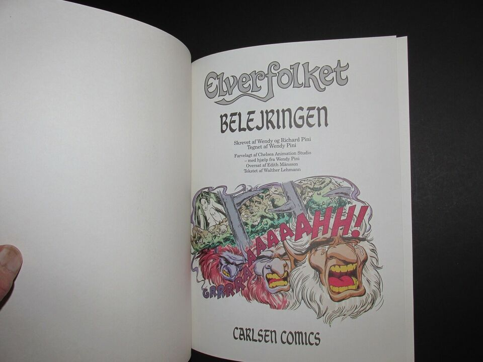 Tegneserier, Elverfolket, Album nr. 21 : Belejringen.