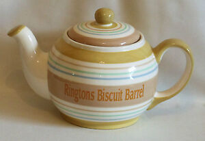 Charming Ringtons Biscuit Barrel Shaped Like a Teapot Unused In Box - Jarrow, Tyne and Wear, United Kingdom - Charming Ringtons Biscuit Barrel Shaped Like a Teapot Unused In Box - Jarrow, Tyne and Wear, United Kingdom