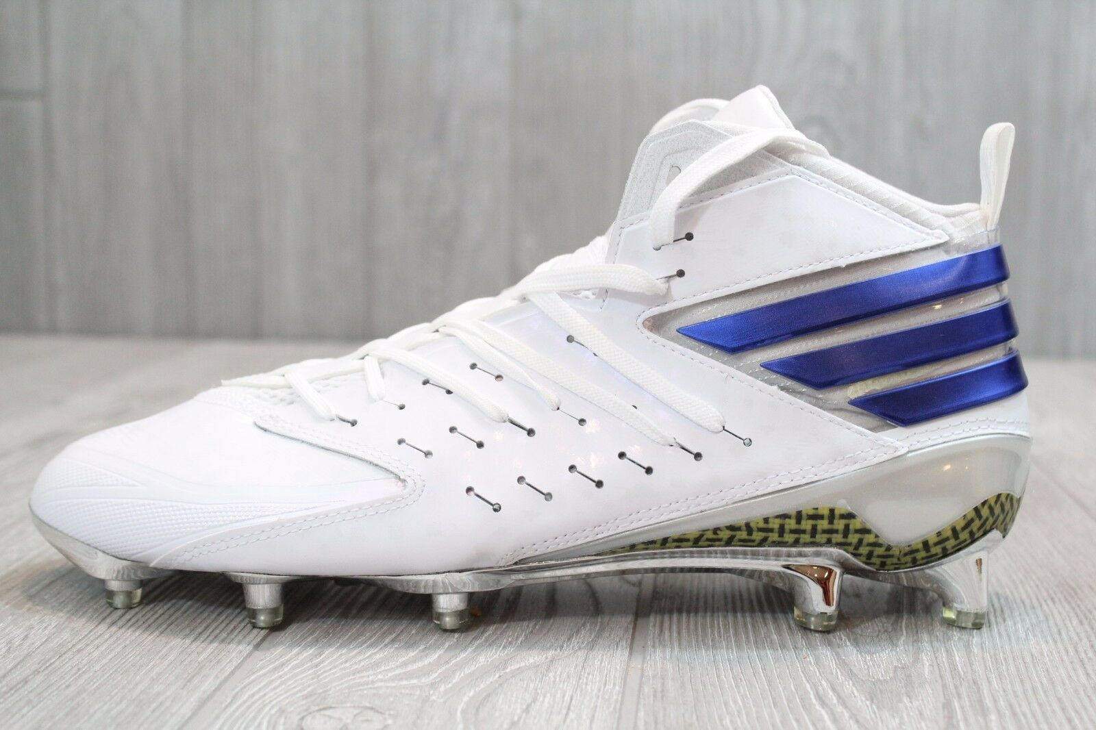 21 NEW NEW NEW ADIDAS Freak X Kevlar Mid Men's Football Cleats White AQ7371 Size 11.5 4393d6