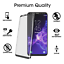Samsung-Galaxy-S9-protector-de-pantalla-de-vidrio-templado-curvado-amfilm-3D-1-Pack miniatura 3