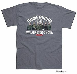 DAD/'S ARMY WALMINGTON-ON-SEA MENS T-SHIRT OFFICIAL MERCHANDISE S - XXL GREY