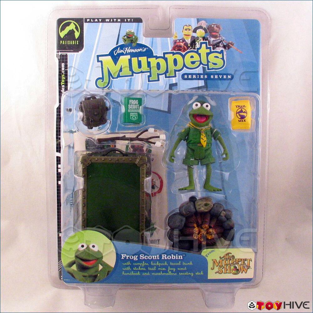 Muppets Palisades Palisades Palisades Frog Scout Robin Series 7 figure cc209f