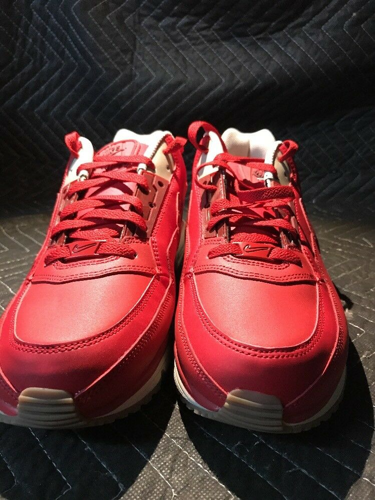 Size 13 NIKE Men AIR MAX LTD 3 RUNNING SHOES 810880 660 Red