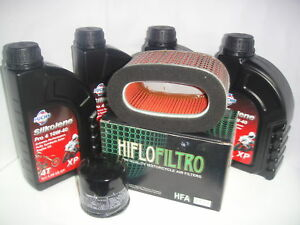 OIL-REPLACEMENET-KIT-SILKOLENE-SYNTHETIC-PRO4-10W40-HONDA-750-VT-Shadow-2001