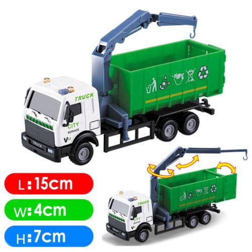 Neueste 1:43 YRcing YRhrrad Lkw Spielzeugträger YRhrzeug Müllwagen Diecast FBB
