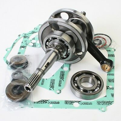 Wiseco Kawasaki KX80 KX85 KX100 Bottom End Rebuild Kit Crank Seals Gaskets