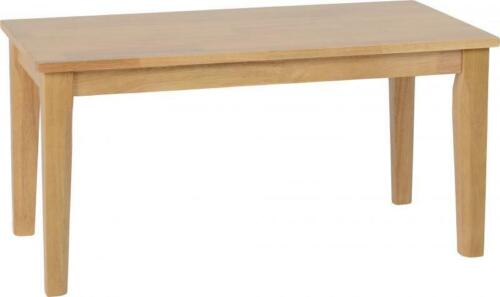 Flat Packed Brand New Oak Varnish Seconique Logan Coffee Table