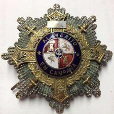 Medalla Cruz al mérito en campaña orden de la época de Franco