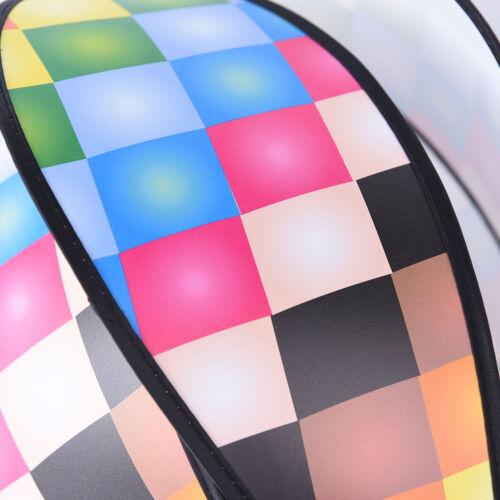 Air Balloon Wind Spinner with Rainbow Stripe Garden Yard Outdoor Decoratio TFSU