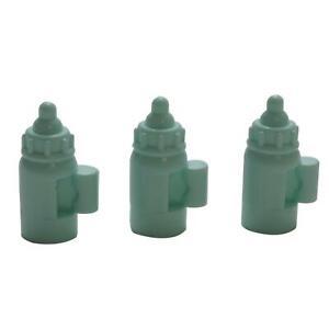 2x Genuine LEGO™ Light Aqua Minifigure Baby Bottle with Handle 18855 6102882 New