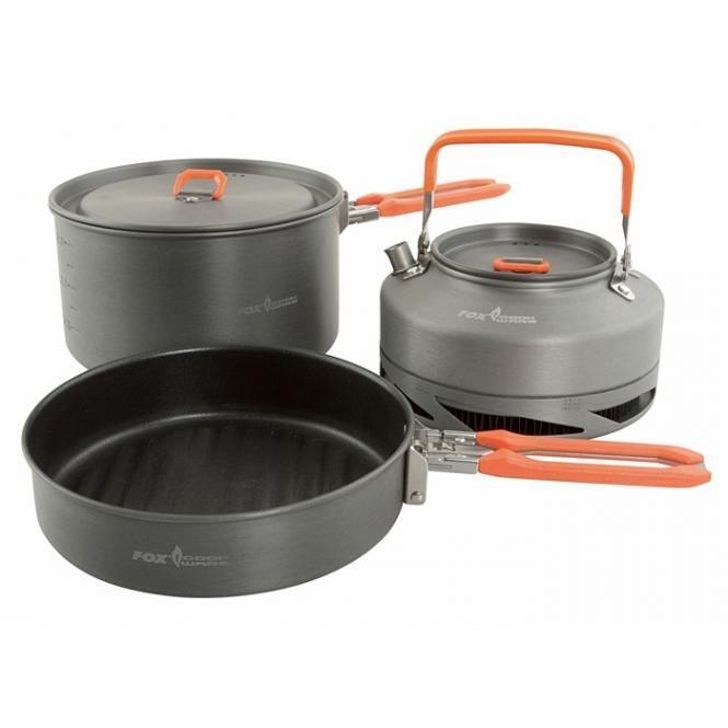 Fox Cookware Set 3-teilig Kochset Kochset Kochset super kompakt ansehen TOP 09d84a