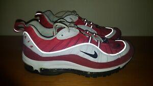 Dettagli su Nike Air Max 98 Gym Red