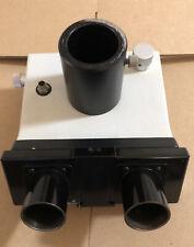 Leitz Wetzlar R Trinocular Microscope Head For Orthoplan In Good Condition