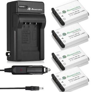 NP-45-NP-45A-Li-ion-Batteries-Charger-For-Fujifilm-FinePix-XP60-J20-J100-USA