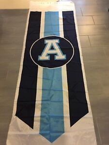 Vintage-CFL-Toronto-Argonauts-Argos-Large-Pennant-Banner-Uncut-90-034-x-36-034