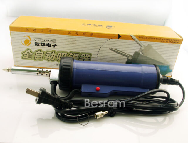 220V 30W 50Hz Electric Vacuum Solder Sucker /Desoldering Pump / Iron Gun